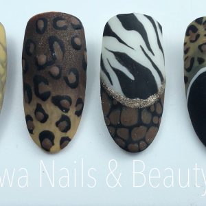Online workshop animal prints riwa nails & beauty