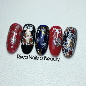 Online workshop kerstdesign riwa nails & beauty